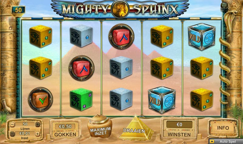 Dice Slot Mighty Sphinx